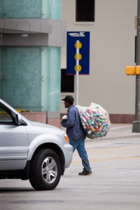 Homeless guy Can Collection Series